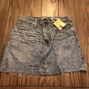 NWT Madewell skirt